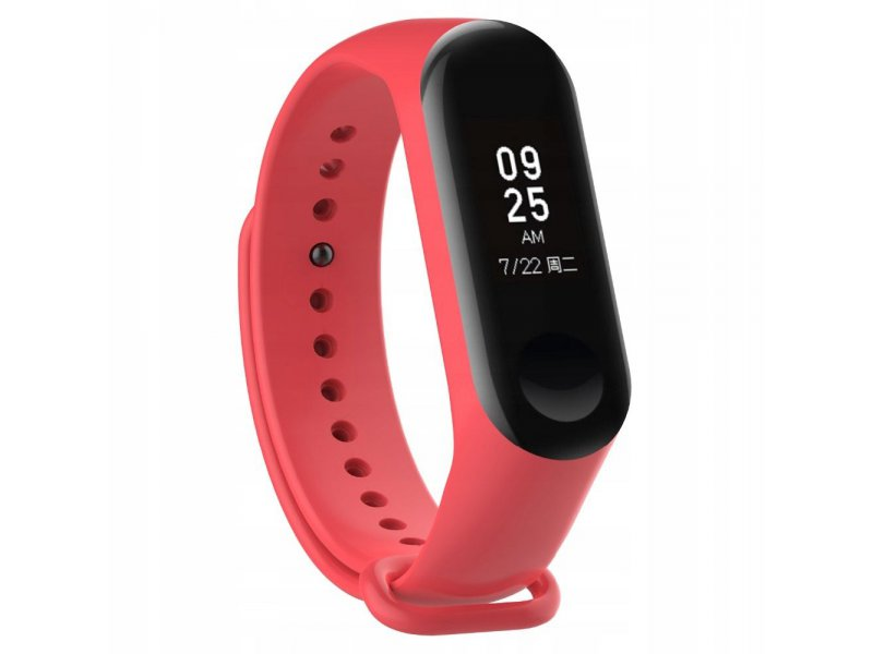 Tech-Protect SMOOTH XIAOMI MI BAND 3 czerwony