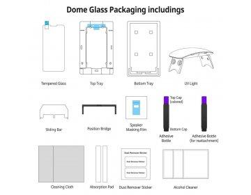 Szkło hartowane WHITESTONE DOME GLASS iPhone X/XS bezbarwny