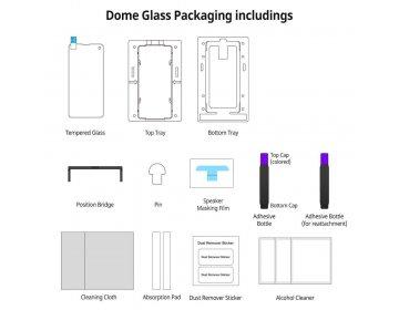 Szkło hartowane WHITESTONE DG REPLACEMENT SAMSUNG S10 bezbarwny