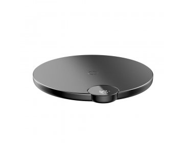 Baseus DIGITAL LED WIRELESS CHARGER czarny