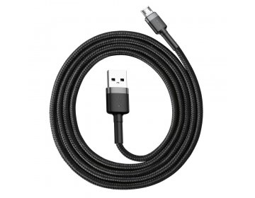 Baseus CAFULE MICRO-USB CABLE 200CM GREY/BLACK