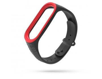 Tech-Protect SPORTY XIAOMI MI BAND 3/4 BLACK/RED