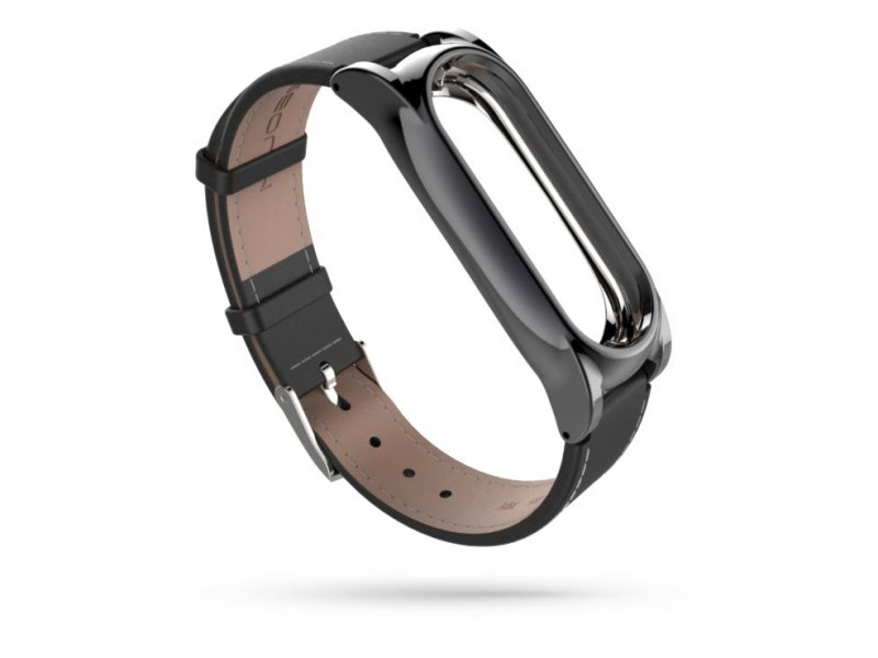 Tech-Protect HERMS XIAOMI MI BAND 3/4 czarny