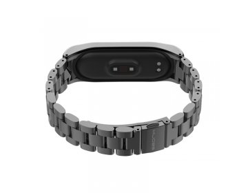 Tech-Protect STAINLESS XIAOMI MI BAND 3/4 czarny