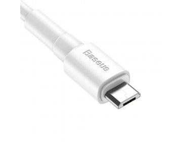 Baseus mini biały MICRO-USB CABLE 100CM biały