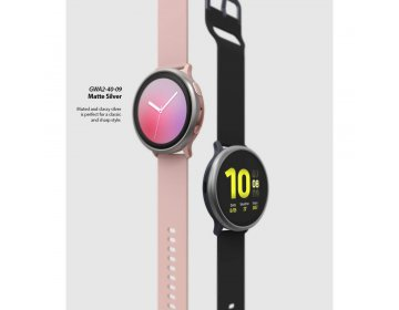 Ringke BEZEL STYLING SAMSUNG WATCH ACTIVE 2 44MM różowy