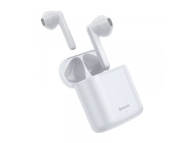 Baseus W09 TWS WIRELESS EARPHONE biały
