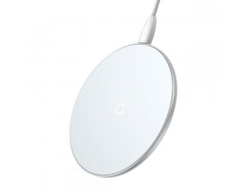 Baseus SIMPLE WIRELESS CHARGER biały