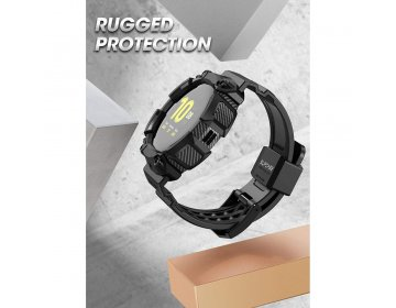 Supcase UNICORN BEETLE PRO SAMSUNG WATCH ACTIVE 2 44MM czarny
