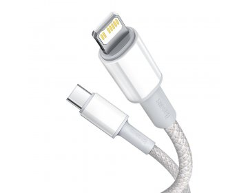 Baseus DATA PD20W TYPE-C TO LIGHTNING CABLE 100CM biały