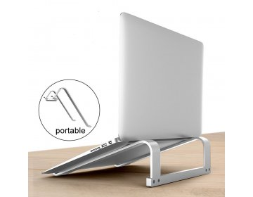 """Tech-Protect ALUSTAND """"2"""" UNIVERSAL LAPTOP STAND srebrny"""