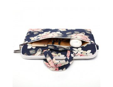 Canvaslife BRIEFCASE MACBOOK AIR/PRO 13 NAVY ROSE