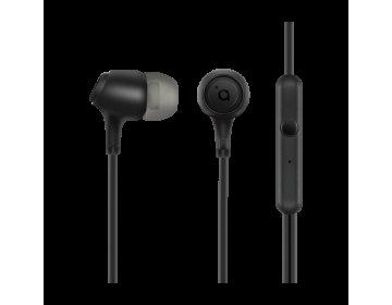 Acme EUROPE Słuchawki przewodowe douszne z mikrofonem HE22 czarne