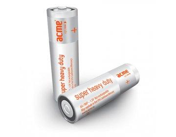 Acme EUROPE baterie AA Super Heavy Duty R6P/4szt.