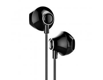 Baseus słuchawki przewodowe Encok H06 czarne