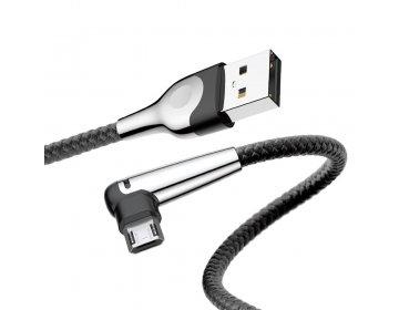 Baseus kabel MVP Elbow micro   1 m czarny 2A
