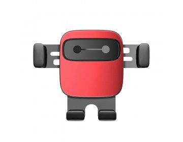 Baseus uchwyt samochodowy Cube grawitacyjny czerwony