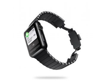 Devia pasek Elegant Link Bracelet do Apple Watch 40mm/ 38mm space czarny