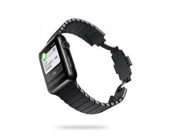 Devia pasek Elegant Link Bracelet do Apple Watch 44mm/ 42mm space czarny