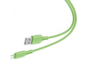 Baseus kabel Colourful USB Lightning 1,2 m 2,4A zielony
