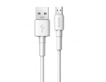 Baseus kabel mini micro   0,5 m biały 4A