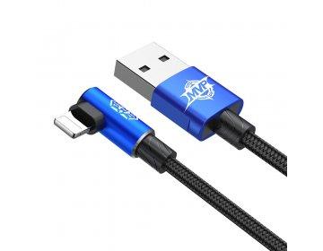 Baseus kabel MVP Elbow 8-pin | 1 m niebieski 2A