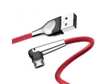 Baseus kabel MVP Elbow micro   1 m czerwony 2A