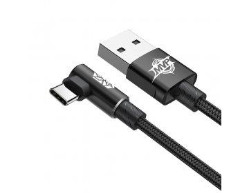 Baseus kabel MVP Elbow typ-C | 1 m czarny 2A