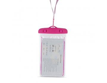 """Pokrowiec wodoodporny Glow 4,8 5,8"""" 175x105mm różowy"""