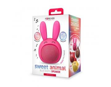 Głośnik bluetooth Forever Sweet Animal Rabbit Pinky ABS-100