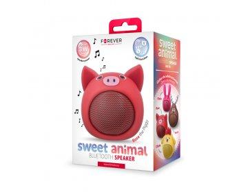 Głośnik bluetooth Forever Sweet Animal Pig Rose ABS-100