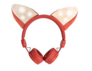 Słuchawki nauszne przewodowe Forever Foxy AMH-100