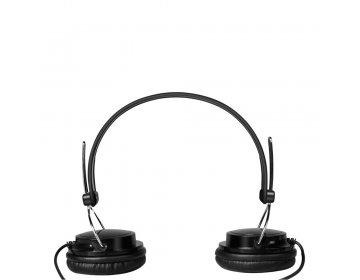 Xo Słuchawki przewodowe S32 jack 3,5mm czarne nauszne