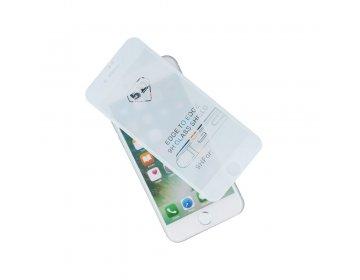 Szkło hartowane 5D do iPhone 6/iPhone 6s biały ramka