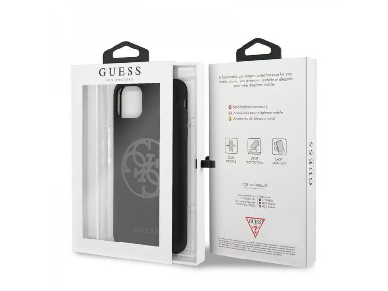 Etui GUESS Hard case Silicone SAMSUNG S20+ czarny