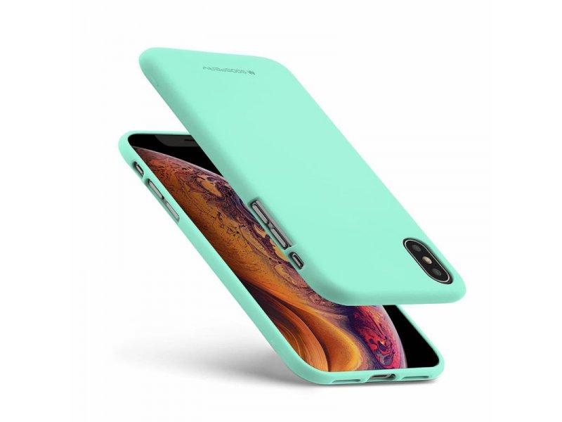 Etui MERCURY Soft do Apple iPhone 12 mini miętowy
