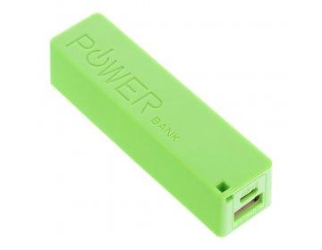 Bateria zewnętrzna POWER BANK PERFUME 2600 mAh Blun zielony