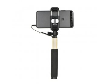 Remax zestaw/uchwyt do selfie Remax P5 jack 3,5mm złoty