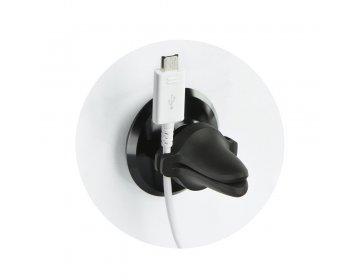 Baseus uchwyt samochodowy do kratki Magnetic Air Vent czarny SUGX-A01