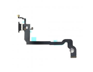 Taśma iPhone X ze złączem ładowania czarna