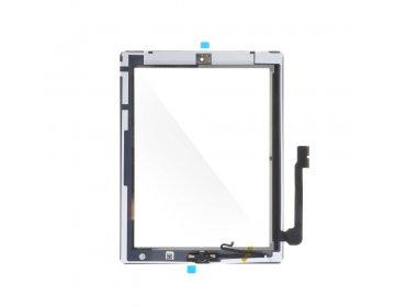 Ekran dotykowy z przyciskiem home EQ iPad 4 biały A1403, A1416, A1430