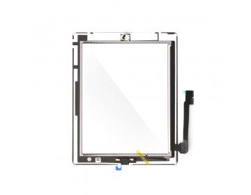 Ekran dotykowy z przyciskiem home EQ iPad 4 czarny A1458, A1459, A1460