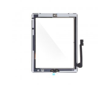 Ekran dotykowy z przyciskiem home EQ iPad 3 biały A1403, A1416, A1430