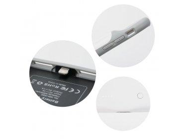 Bateria zewnętrzna POWER BANK 3000 mAh z pokrowcem do iPhone X/Xs biały