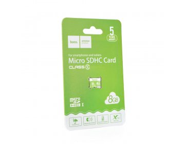Hoco karta pamięci microSD TF High Speed Memory 8GB Class 10