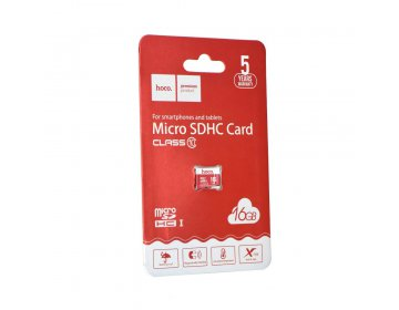 Hoco karta pamięci microSD TF High Speed Memory 16GB Class 10