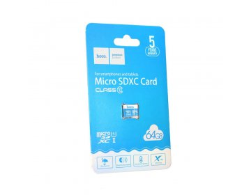 Hoco karta pamięci microSD TF High Speed Memory 64GB Class 10