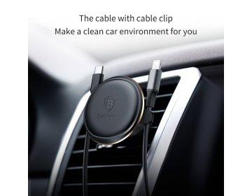 Baseus uchwyt samochodowy do kratki Magnetic Air Vent złoty SUGX-A0V