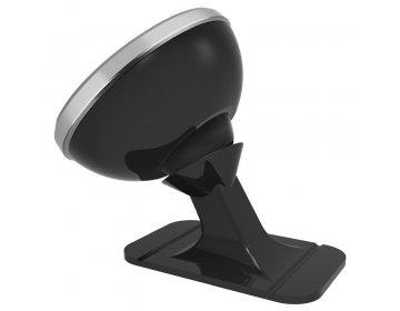 Baseus uchwyt samochodowy do deski 360-degree Rotation Magnetic srebrny SUGENT-NT0S