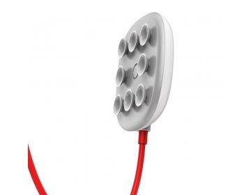 Baseus ładowarka bezprzewodowa/indukcyjna Suction Cup biały WXXP-01/BSWC-P23